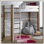 Кровать-чердак Junior Provence Scandi90x190 (Blanc/Chene)