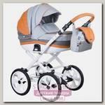 Детская коляска BeBe-Mobile Ines A 3 в 1, ткань+эко-кожа