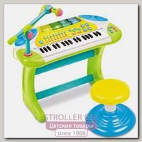Электронное пианино со стульчиком Weina