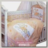 Комплект в кроватку Золотой Гусь Zoo Bear 7 предметов 65х125 см