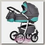 Детская коляска Riko Modus New 3 в 1, ткань+эко-кожа