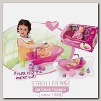 Игровой набор Xiong Cheng Кукла с ванной