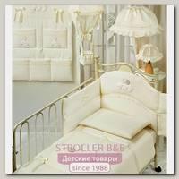 Постельное белье в кроватку Italbaby Cuccioli, 5 предметов