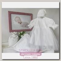 Крестильный комплект для девочки Makkaroni Kids Angel, 4 предмета