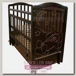 Детская кроватка Мой Малыш Ивашка 12, продольный маятник