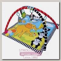 Музыкальный развивающий коврик LaDiDa Панда в раю PM-B-010