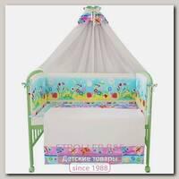 Комплект постели в кроватку Fairy Фея Улыбка, 7 предметов