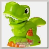 Фонарик со звуковыми эфектами Fisher Price Зеленый динозаврик