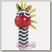 Погремушка Playgro Зебра-пищалка