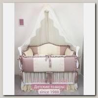 Комплект постели в кроватку Marele Венеция 460244, 11 предметов