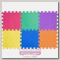 Игровой коврик-пазл Funkids 12' Симпл-12-10-ОТ KB-049-6-10, 6 плит