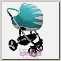 Детская коляска Mikrus Cruiser Premium 3 в 1, 100% эко-кожа
