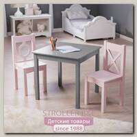 Детский столик с 2 стульчиками Leroys VF1