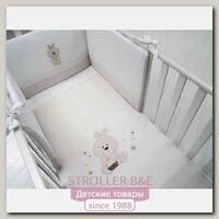 Комплект постели в кроватку Baby Expert Trotto & Lina, 4 предмета