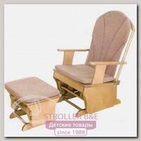 Кресло-качалка с подставкой для ног С 454 Красная Звезда Можга