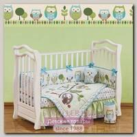 Комплект в кроватку Giovanni Shapito Summer Owls Джованни Шапито Саммер Оулс, 7 предметов