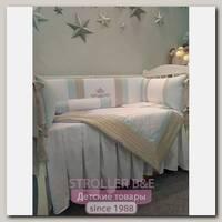 Комплект постели в кроватку Marele Для Принца 460255, 11 предметов