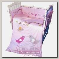 Набор постели в кроватку ТМ Newtone Нежность, комплектация на выбор