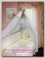 Комплект в кроватку Bombus Элефантики 1883, 7 предметов
