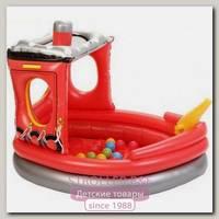 Hадувной сухой бассейн Upright Пожарный Катер + 50 шаров