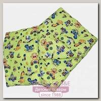 Комплект в кроватку Топотушки: одеяло и подушка на шерсти Л0201Ш