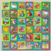 Игровой коврик-пазл Funkids 12' Русская Азбука KB-H16-36-NT, 36 плит