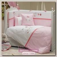 Комплект в кроватку Fiorellino Tweet Home Фиореллино Твит Хоум, 5 предметов