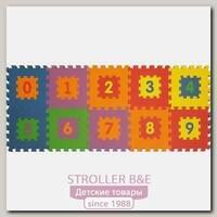 Игровой коврик-пазл Funkids 12' Цифры-1 KB-019, 10 плит