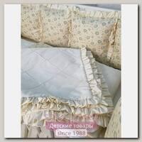 Комплект постели для круглой и овальной кроватки Marele Нежные Ромашки 460236-10, 17 предметов
