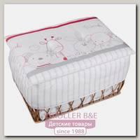 Плетеный ящик для игрушек Italbaby Rabbit