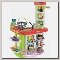 Супермаркет Ecoiffier 100% Chef Supershop 1784 с корзиной, 20 предметов