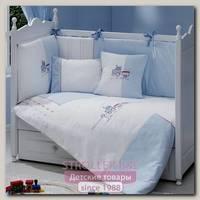 Комплект в кроватку Fiorellino Train Фиореллино Трейн, 5 предметов
