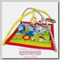 Развивающий коврик Biba Toys Веселый Зоопарк