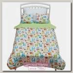 Покрывало + 2 декоративные подушки для дошкольников Shapito by Giovanni Safari Kids 170 х 110 см