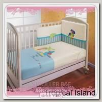 Комплект постельного белья Feretti Tropical Island 3 предмета