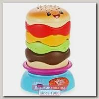 Развивающая игрушка-пирамидка Bright Starts Брайт Стартс Веселый Бутерброд