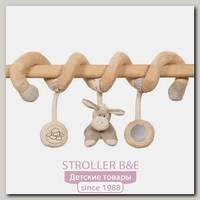Мягкие игрушки Nattou Toy spiral Наттоу Той спираль Cappuccino Кролик, Овечка и Ослик