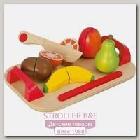 Игровой набор Eichhorn Доска с фруктами 100003721, 12 деталей