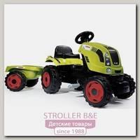 Трактор педальный Smoby CLAAS XL 710114 с прицепом