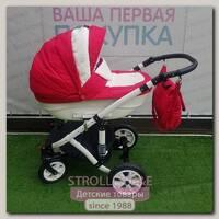 Детская коляска Gusio Florencja New 2 в 1, с переноской