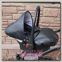 Детское автокресло 0+ для коляски Ray Eterno (черное)