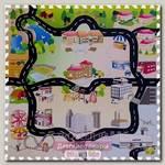 Игровой коврик-пазл с дорогами Funkids 12' Город-2 KB-H62-NT, 9 плит