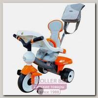 Трехколесный велосипед Coloma Comfort Angel DI Orange с игровой панелью