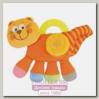 Игрушка мягконабивная Chicco 'Котенок оранжевый'