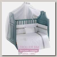 Комплект постельного белья Kidboo Blossom Linen White 6 предметов