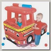 Hадувной сухой бассейн Upright Пожарная Машина + 50 шаров