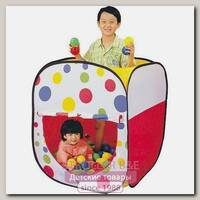 Детская палатка Calida Дом Квадрат + 100 шаров