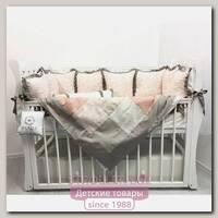 Комплект постели для прямоугольной кроватки Marele Прованс 460205-12, 19 предметов