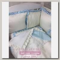 Комплект постели для прямоугольной кроватки Marele Эльбрус 460259-пр, 19 предметов