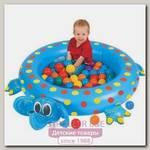 Hадувной сухой бассейн Upright Слоненок + шары